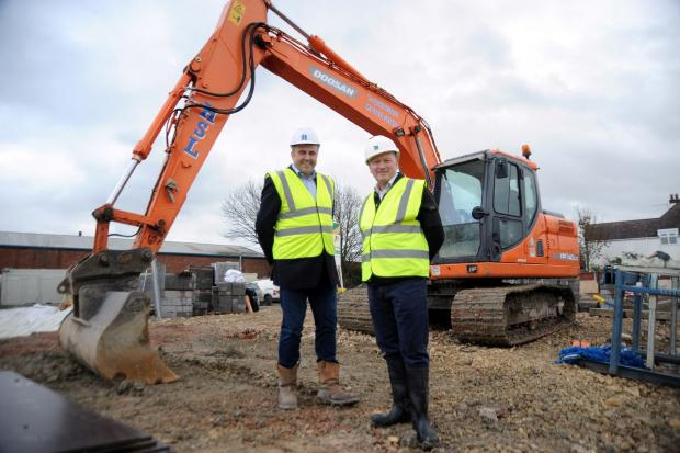 Key contract at Evesham's new multi-million care home site for local contractors Heming Group