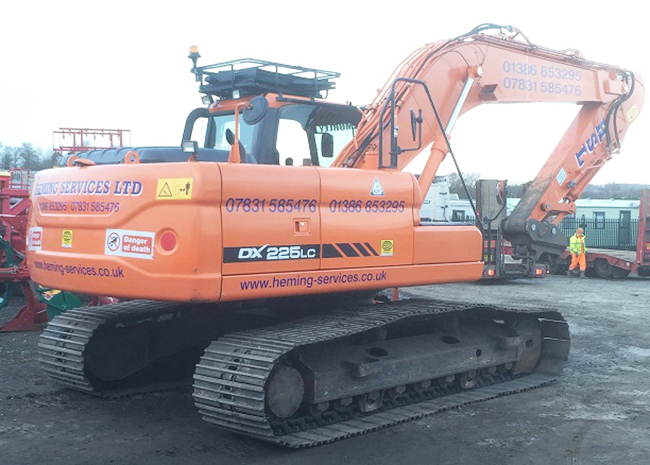 Well known family-run firm expands with launch of Heming Plant Hire