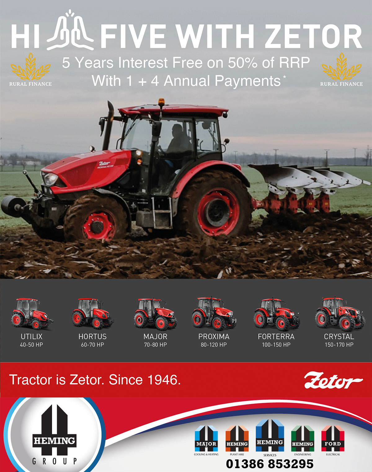 YOUR LOCAL ZETOR DEALERSHIP