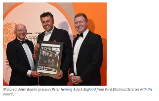 SPOTLIGHT ON FORD ELECTRICAL AT APPRENTICESHIP AWARDS